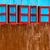colorato · Windows · view · costruzione · casa - foto d'archivio © dutourdumonde