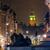 the clock tower seen from trafalgar square at night stock photo © dutourdumonde