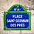 place saint germain des pres street sign stock photo © dutourdumonde