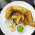 рыбы · чипов · жареный · филе · картофель · фри - Сток-фото © dutourdumonde