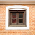 small wooden window and brick wall stock photo © dutourdumonde