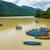 small boats on phewa lake in pokhara stock photo © dutourdumonde