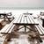 fila · arancione · tavola · sedia · divano - foto d'archivio © dutourdumonde