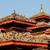 kare · Nepal · tapınak · çatılar · tüy · kuşlar - stok fotoğraf © dutourdumonde