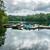 wooden dock on a lake in virginia usa stock photo © dutourdumonde