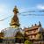 santuário · Nepal · ouro · olhos · azul · bandeira - foto stock © dutourdumonde