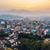 şehir · Nepal · Bina · seyahat · bayrak - stok fotoğraf © dutourdumonde