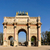 Arc · de · Triomphe · cielo · blu · Parigi · Francia · cielo · costruzione - foto d'archivio © dutourdumonde