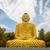meditando · buda · estátua · bronze · sessão · posição - foto stock © dutourdumonde