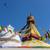 histórico · budista · vermelho · blue · sky · beleza · azul - foto stock © dutourdumonde