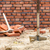 kéz · tégla · cement · épület · fal · építkezés - stock fotó © dutourdumonde