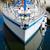 íj · vitorlázik · csónak · jacht · kék · tenger - stock fotó © dutourdumonde