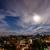 volle · maan · berg · boven · bomen · heldere · hemel - stockfoto © dutourdumonde