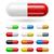 sok · színes · asztal · izolált · gyógyszer · tabletták - stock fotó © dvarg
