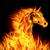 zwarte · paard · rapper · gekleurd · cartoon · illustratie - stockfoto © dvarg