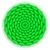 circle with roof tile pattern in green stock photo © dvarg