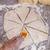 cepillo · naranja · silicona · alimentos · papel - foto stock © dzejmsdin