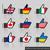 bandera · Reino · Unido · Rusia · pueden · utilizado · comercio - foto stock © ecelop