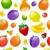 фрукты · пластиковых · продовольствие · фон · цвета · кожи - Сток-фото © ecelop