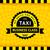 такси · такси · символ · Пиксели · шаблон · дороги - Сток-фото © ecelop