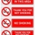 Labels set No smoking stickers stock photo © Ecelop