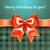 allegro · Natale · arco · perfetto · invito - foto d'archivio © Ecelop