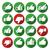 giù · simboli · business · segno · verde - foto d'archivio © ecelop