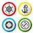 zomers · reis · ingesteld · kleur · iconen · huis - stockfoto © ecelop