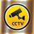 cctv · símbolo · dorado · vector · tecnología · oro - foto stock © Ecelop