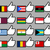 bandeiras · viajar · país · política · ícone - foto stock © Ecelop