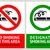 no smoking and smoking area labels   set 11 stock photo © ecelop