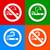 喫煙 · にログイン · 緑 · 白 · ルーム · 法 - ストックフォト © ecelop