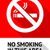 label no smoking sticker stock photo © ecelop