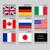 vektor · zászló · szett · világ · kontinensek · országok - stock fotó © ecelop