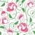 naadloos · rozen · patroon · vector · voorjaar · blad - stockfoto © Ecelop