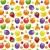 gyümölcs · végtelen · minta · vektor · darab · gyümölcsök · izolált - stock fotó © ecelop