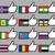 bandeiras · assinar · viajar · país · política - foto stock © Ecelop