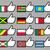 bandeiras · assinar · viajar · bandeira · país - foto stock © Ecelop