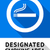 label smoking area sticker stock photo © ecelop