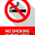 no smoking sticker flat design stock photo © ecelop