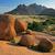 granito · nascer · do · sol · deserto · Namíbia · África - foto stock © ecopic