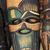 afrikaanse · masker · houten · exemplaar · ruimte · man · hout - stockfoto © ecopic