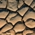 secas · rachado · lama · para · cima · enseada · deserto - foto stock © ecopic