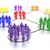 ネットワーク · 人 · グラフィック · ソーシャルメディア · レンダリング · 白 - ストックフォト © edgeofmadness
