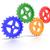 ギア · グラフィック · 歯車 · 移動 · レンダリング - ストックフォト © edgeofmadness