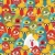 crazy eggs monsters seamless pattern stock photo © ekapanova