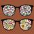 retro sunglasses with mushrooms reflection stock photo © ekapanova