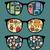 ретро · Солнцезащитные · очки · Sweet · Монстры · отражение · очки - Сток-фото © ekapanova