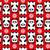 Cartoon · panda · marco · aislado · objeto - foto stock © ekapanova