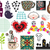 mix of different images and icons vol68 stock photo © ekapanova